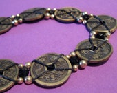 "COUPON CODE SALE and FREE US SHIPPING, Chinese 8-Coin Bracelet, Use Coupon Code ""Aloha2010"" for 20% Off"