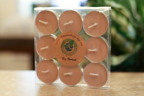 FIG FOREST Soy Tealights