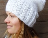 White Whistler Bobble Hat