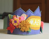 Woodland Princess Birthday Crown