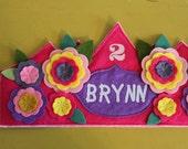 GIRL Custom Birthday Crown