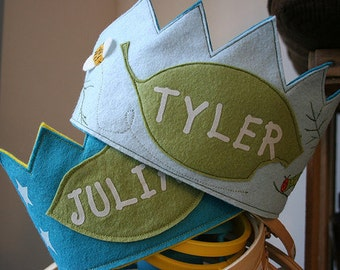 BOY Custom Birthday Crown