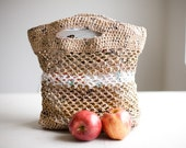 custom listing for Nicole (plarn grocery or market tote)