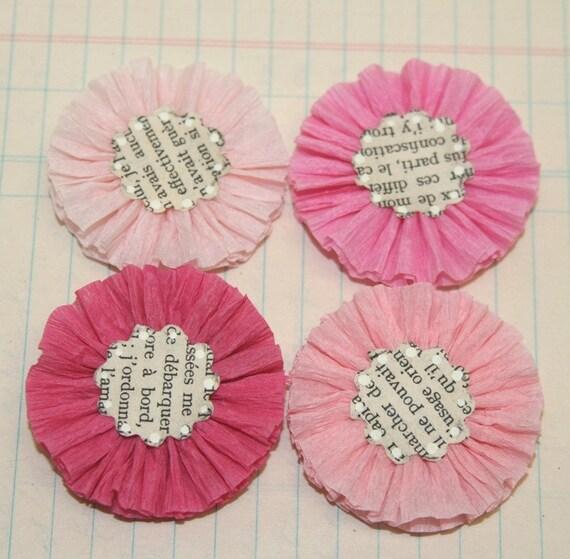 Цветки из бумаги своими руками на 8