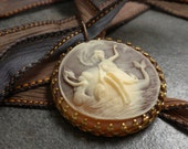 Mermaid Jewelry Necklace Sea Goddess Cameo