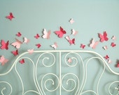 3D Butterfly wall decals for the nursery - Variation set of 30 - FREE SHIPPING