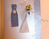 Oriental Swirl Bridal Card
