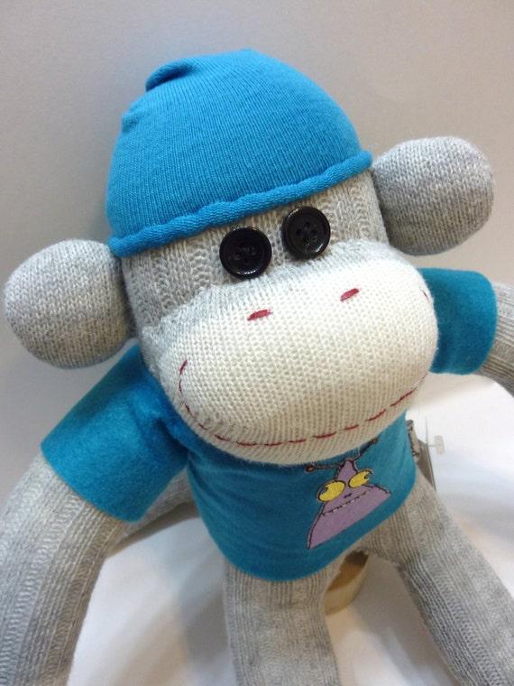 Maddox the Sock Monkey