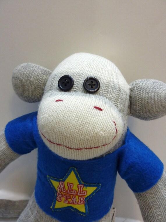 Lester the Sock Monkey