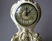 Ornate Vintage Clock/ French Decor/Shabby Chic