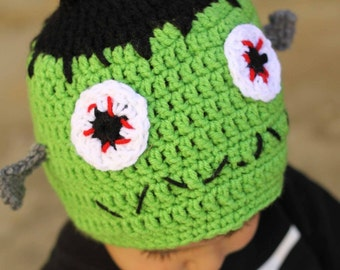 Frankenstein Hat            AN ORIGINAL CREATION