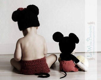 2 in 1 Mouse Hat -  AN ORIGINAL CREATION