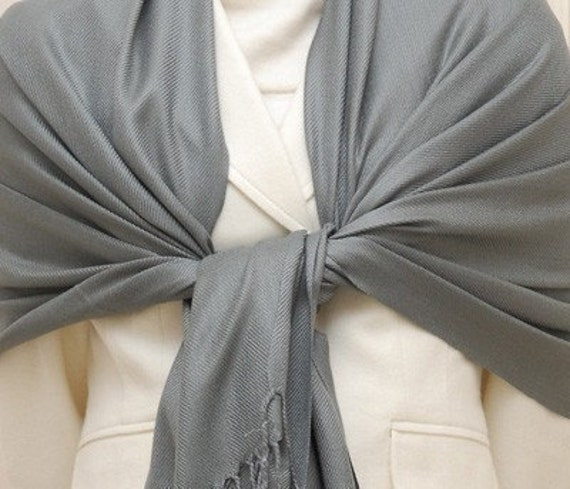 Reserved - 5 charcoal gray shawls