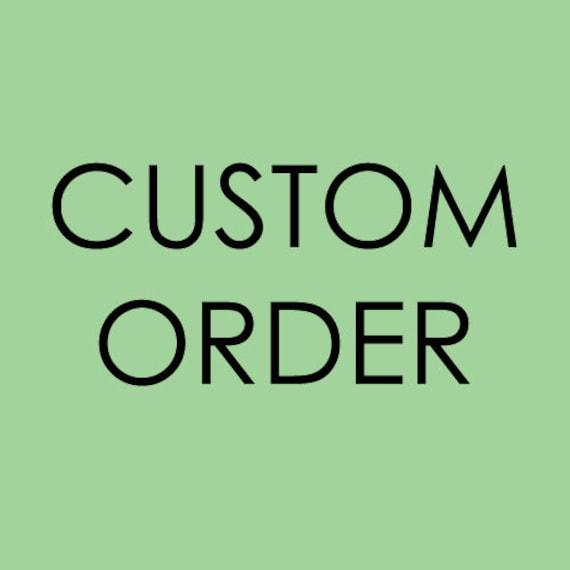 Custom order - 7 shawls