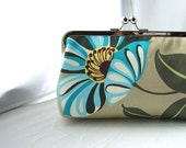 Bridesmaids Clutch - Wedding Clutch - Bridal Clutch - Bridesmaids Gifts - Bridal Floral Clutch - Wedding Clutch - Gracie Clutch
