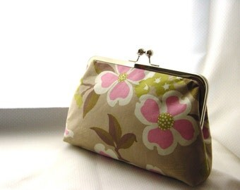 Floral Clutch - Bridesmaids Clutch - Wedding Clutch Purse - Bridesmaid Gifts - Nancy Clutch
