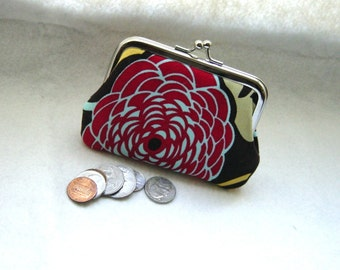 Coin purse - Change purse - Brown Coin Purse