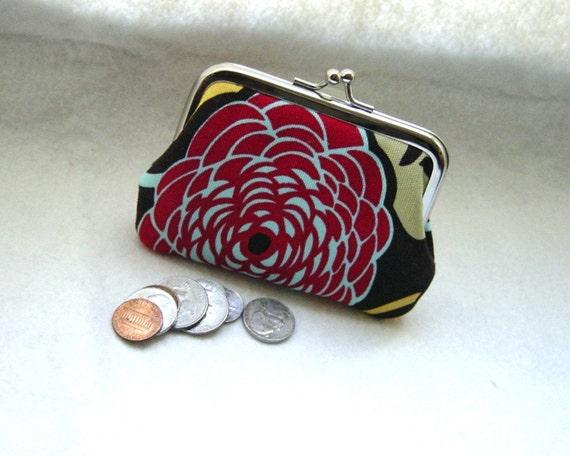 Coin purse - Change purse - Brown Coin Purse