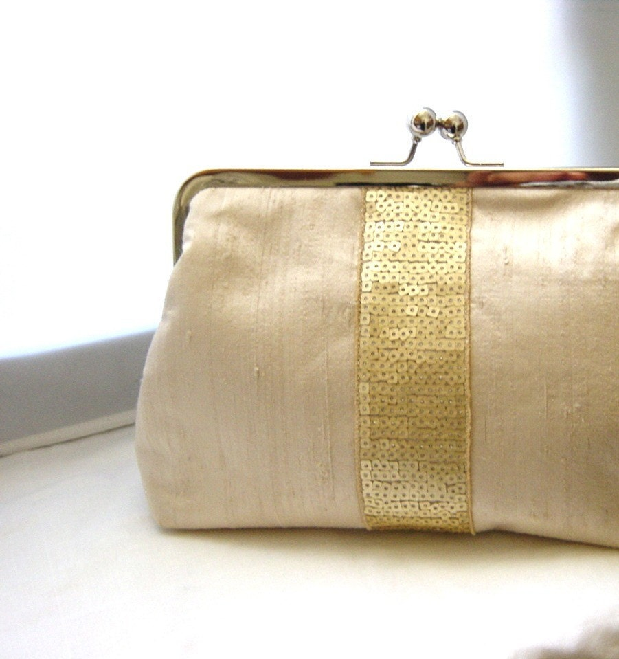 Wedding Clutch: Bridal Clutch Wedding Clutch Bridesmaids Clutch Beige