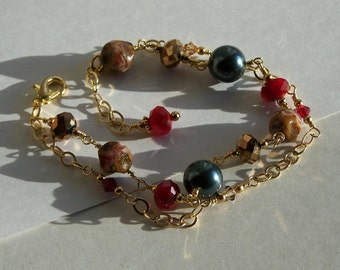Pretty Fall Bracelet