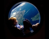 Porthole Card- Earth from Space
