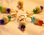 Bone and Bead  Stitch Markers
