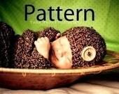 Newborn Baby Cocoon Set Crochet Pattern PDF