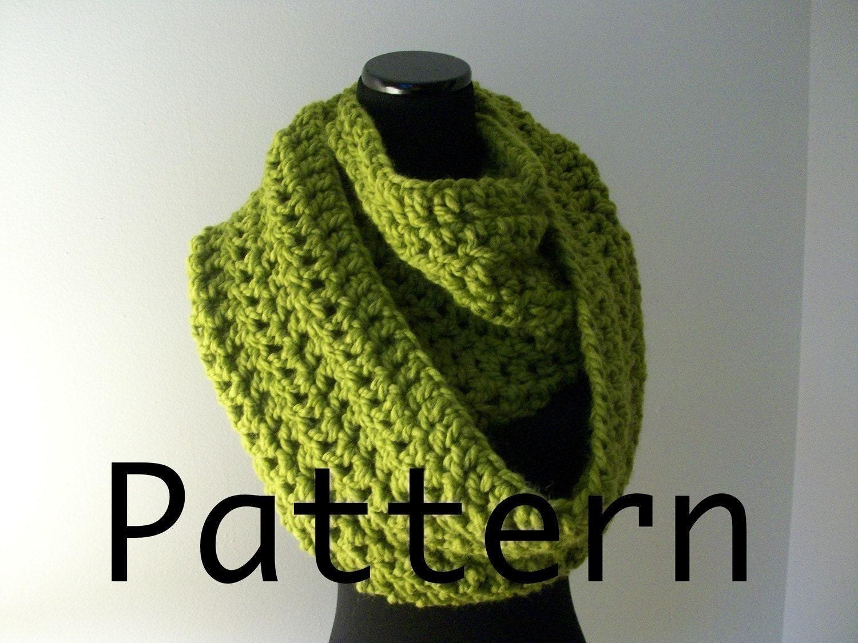Crochet Pattern Grande Circle Scarves 3 Sizes Permission