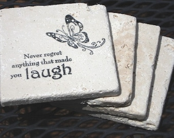Words to Inspire-Set of 4 Coasters