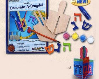 Decorate Your Own Dreidel, Israel, Holidays, Jewish, Decor, Craft
