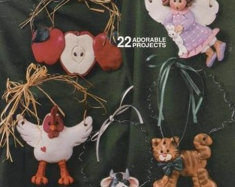 Clay darlings - 22 adorable projects (Suzanne McNeill Design Originals), Tutorial, Book, Supply, Polymer Clay, Clay, tools, Jewelry