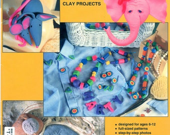 Make & Bake Clay - 19 Easy Fun and Clever Polymer Clay Projects by Mary Margaret Hite