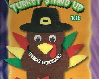 Thanksgiving Foamies Turkey Kit and Foam World Glue - Kit 1