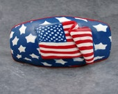 Patriotic One-of-a-kind 3-D Barrette