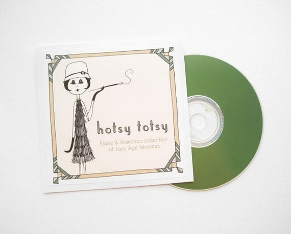 1920s Flapper Favorites // Hotsy Totsy - Eloise and Ramona's collection of Jazz Age favorites // digital download