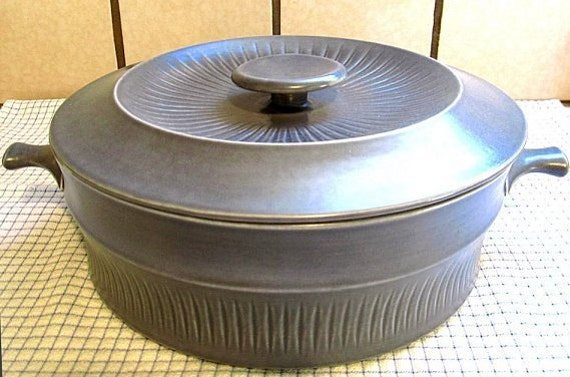Slate Grey Casserole with Lid Royal Sphinx Maastricht Holland