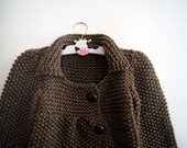 Cardigan / sweater / coat size 4 years old - knittingcate