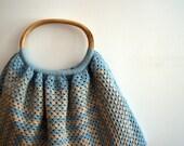 Large crocheted bag