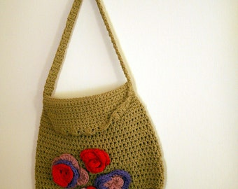 Crochet bag/purse/hip bag