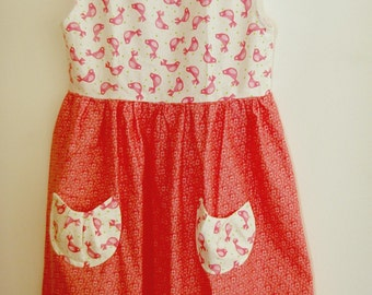 Spring Vintage Design Dress Size 6 years