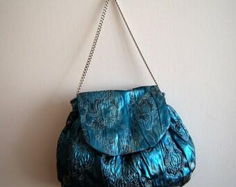 Luce blu borsa