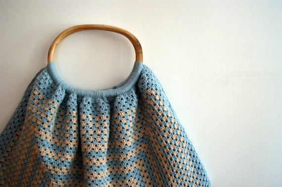 Large crocheted bag