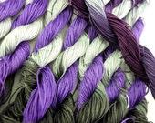 size 40 hand dyed tatting and crochet thread - Thunderheart