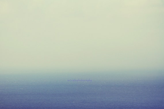 Blue and White - Misty Blue in the ocean Romantic Crazy about ocean Blue seascape just blue abstract ocean blue all about ocean