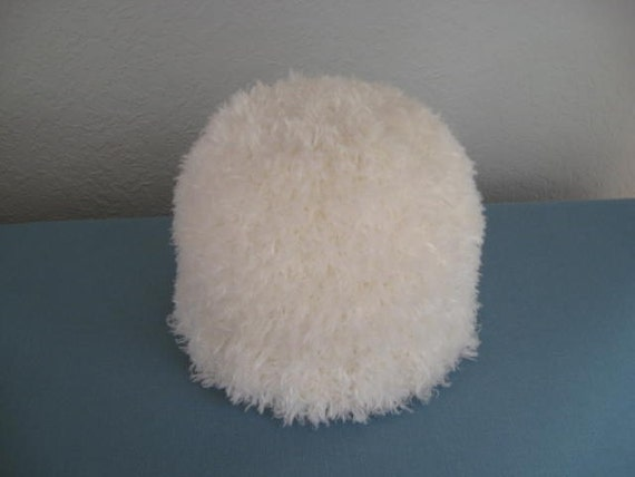 White Toddler Hat. Ready to Ship.