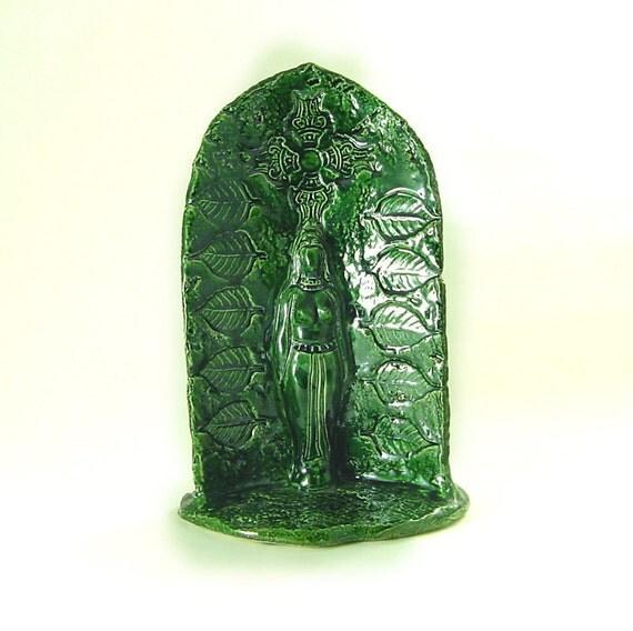 Goddess of the Divine Feminine Earth Handmade SCULPTURE Statue Devi