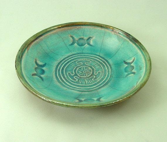 Goddess HECATE HEKATE  WHEEL  Offering Bowl