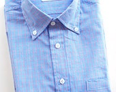Blue, White, & Pink Check Shirt - BkT10