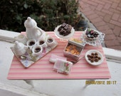 Coffee Service and Sweets Table