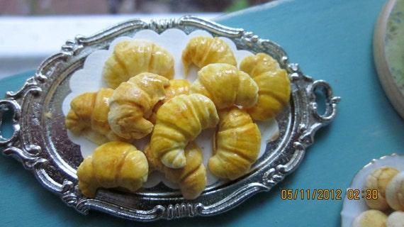 Tray of Croissants